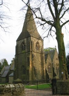 Ashover church tower