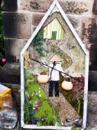 Well dressing from 2015 based on the story of two pots